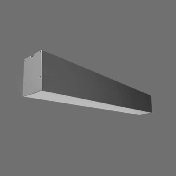 80W Iekarināms lineārs LED Pelēks gaismeklis LIMAN HIGH POWER 0-10V
