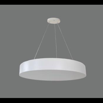 60W Iekarināms LED gaismeklis Balts apaļš MORA Avārijas