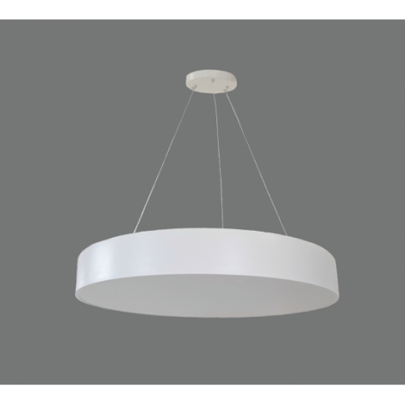 70W Iekarināms LED gaismeklis Balts apaļš MORA Avārijas