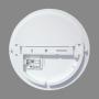18W Plafonveida LED gaismeklis ar mikroviļnu sensoru RIOSENS