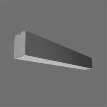 20W Iekarināms lineārs LED Pelēks gaismeklis LIMAN CCT TRIAC
