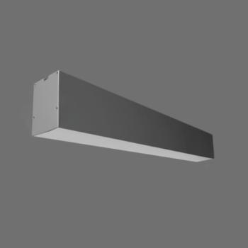 40W Iekarināms lineārs LED Pelēks gaismeklis LIMAN CCT Avārijas
