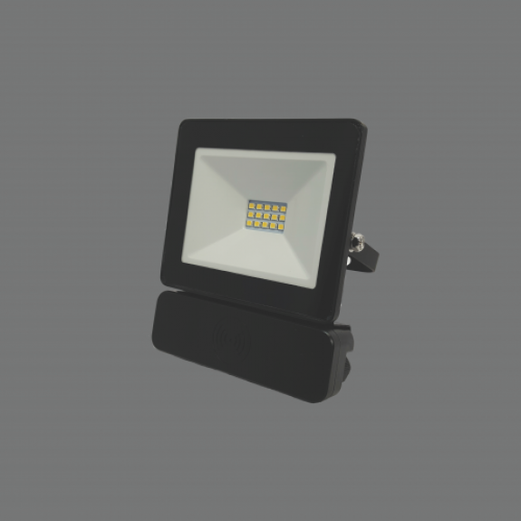 LED prožektors 10W 4000K ar mikroviļņa sensoru TOLEDOSENS