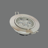 LED Spot Light Round Recessed Rotatable 3W 3000K Ø85x56mm LENS