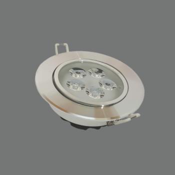 LED Spot Gaismeklis Apaļš Iebūvējams Grozāms 3W 3000K Ø85x56mm LENS