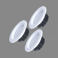 LED Spot Light Recessed Rotatable DIMMABLE with remote control 3x4W 3000K-6500K BERN
