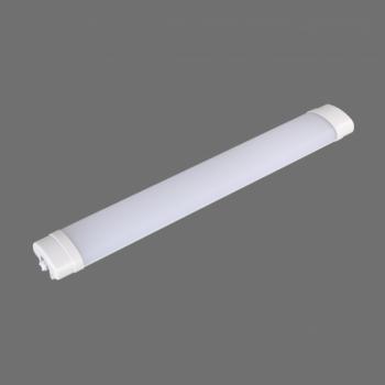 LED lineārais gaismeklis Triecienizturīgs IP65 18W 4000K 600mm LAGOS