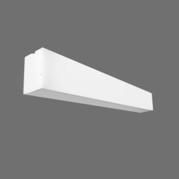 LED lineārais gaismeklis Iekarināms Balts 20W 4000K 600x55x75mm LIMAN