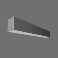 LED lineārais gaismeklis Iekarināms Pelēks 54W 4000K 1800x55x75mm LIMAN