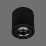 LED gaismeklis Virsapmetuma Melns Prožektorveida 15W 4000K OSLO