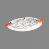 LED panel light Round Recessed IP65 3000K RONDA