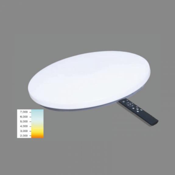 LED griestu lamapa 36W Plafonveida 3000K līdz 6500K Ø500x75mm SOPOT