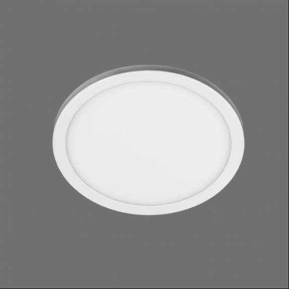 LED panelis apaļš Iebūvējams 30W 4000K Ø220x7mm SPLIT