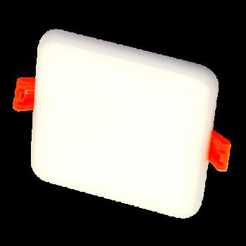8W Iebūvējamais kvadrāts LED panelis ROSA