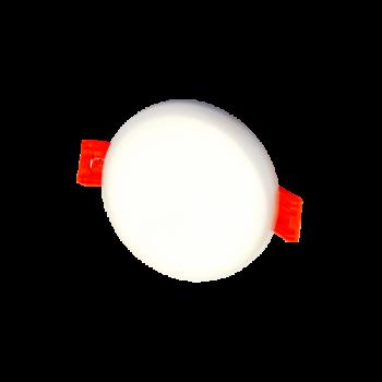 20W IEBŪVĒJAMAIS LED GAISMEKLIS, APALŠ, AVAR. LED PANELIS ROSA 4000K 1766LM IP65 Ø185mm