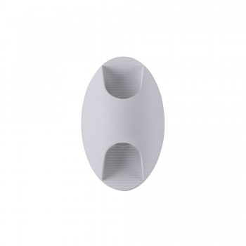 Āra gaismeklis Maytoni Outdoor ovālas formas baltā krāsā