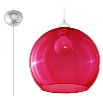 Pendant lamp BALL red