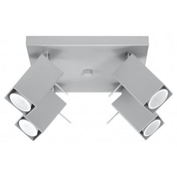 Ceiling lamp MERIDA 4 grey