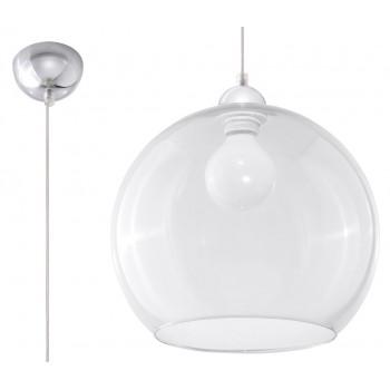 Pendant lamp BALL transparent