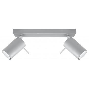 Ceiling lamp RING 2 grey