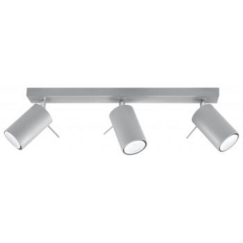 Ceiling lamp RING 3 grey