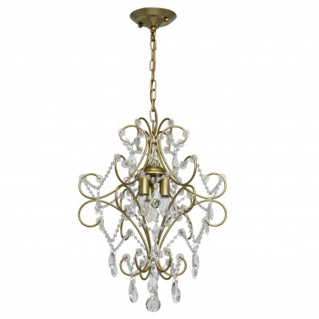 Pendant lamp Crystal MW-LIGHT 373014503 E14