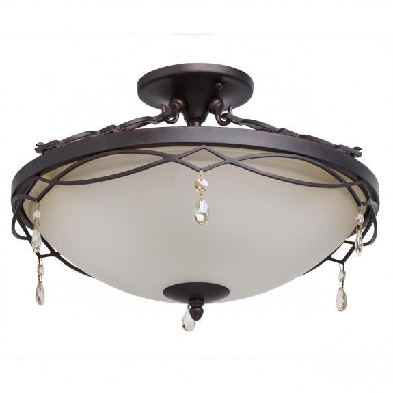 Ceiling lamp Country CHIARO 382010703 E27