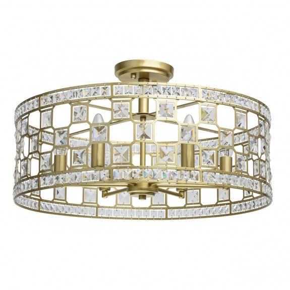 Ceiling lamp Crystal MW-LIGHT 121011606 E14