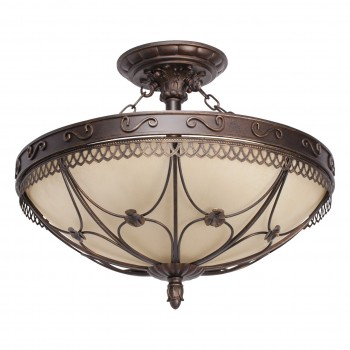 Ceiling lamp Country CHIARO 382018205 E27